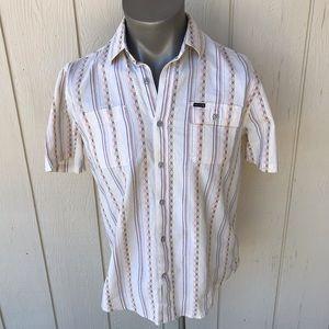 Volcom Short Sleeve Button Down Slim Fit Shirt